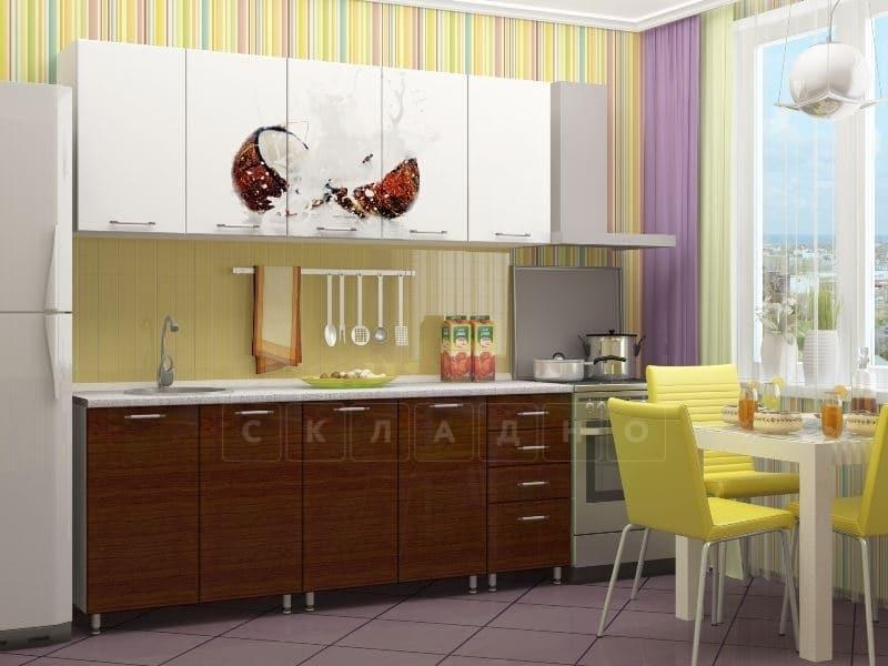 Кухня с фотопечатью Баунти 2,0м фото 2 | интернет-магазин Складно