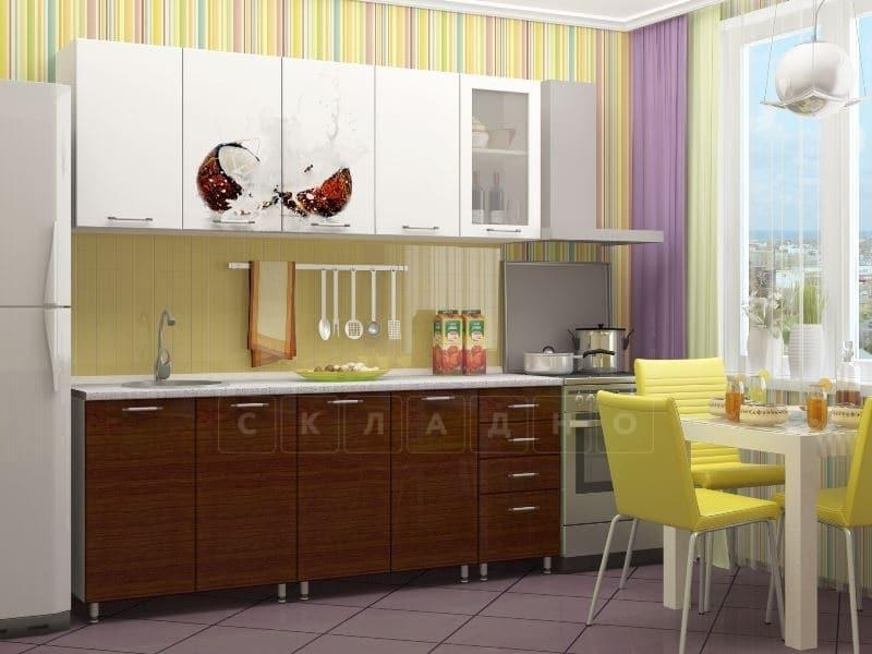 Кухня с фотопечатью Баунти 2,0м фото 1 | интернет-магазин Складно