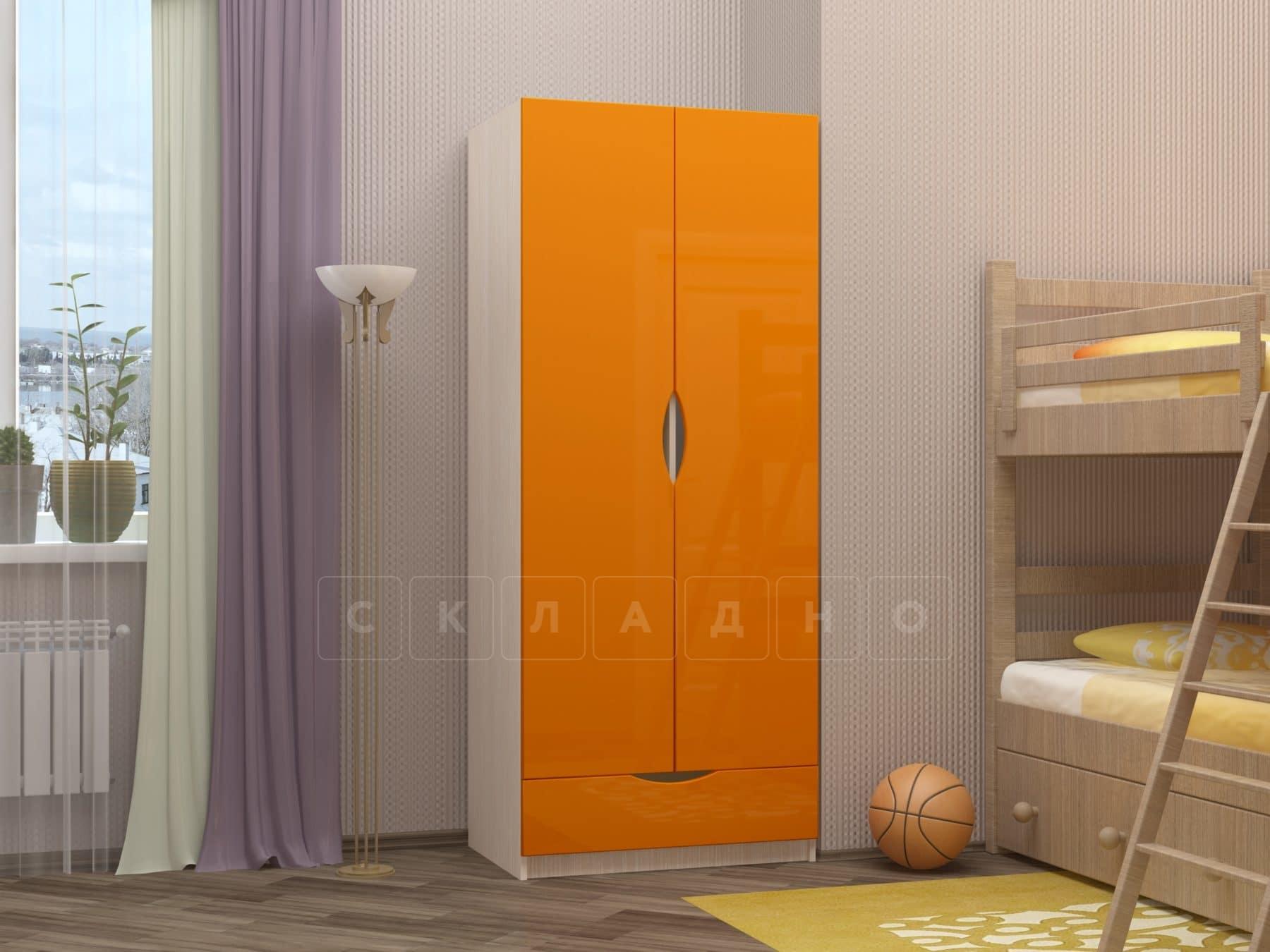 Шкаф в детскую Бемби-3 фото 1 | интернет-магазин Складно