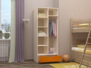 Шкаф в детскую Бемби-3 9710 рублей, фото 2 | интернет-магазин Складно