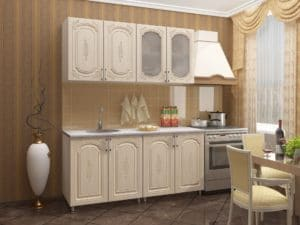 Кухонный гарнитур Боско 1,6 м фото | интернет-магазин Складно