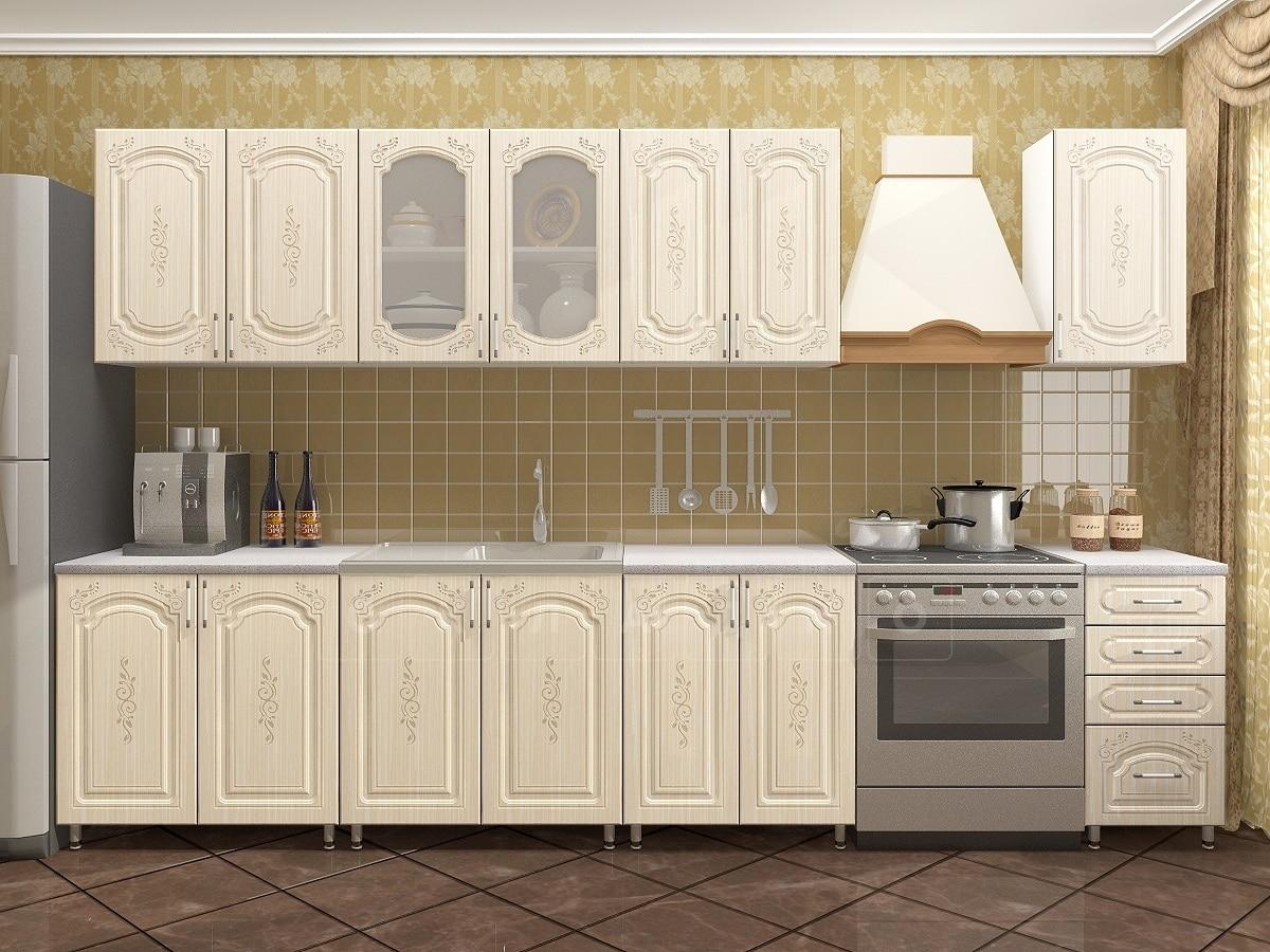 Кухонный гарнитур Боско 2,6 м фото 1 | интернет-магазин Складно