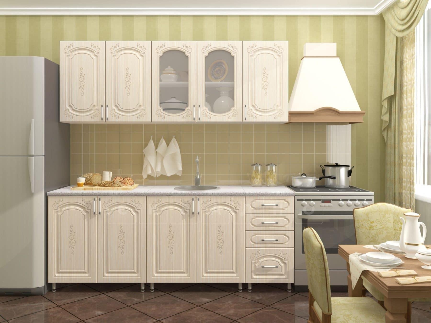 Кухонный гарнитур Боско 2,0 м фото 1 | интернет-магазин Складно