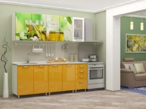 Кухня с фотопечатью Чайник 2,0м  24470  рублей, фото 1 | интернет-магазин Складно
