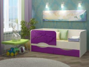 Детская кровать Дельфин-2 МДФ 5190 рублей, фото 5 | интернет-магазин Складно