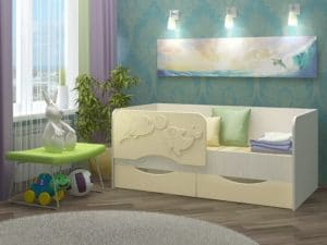 Детская кровать Дельфин-2 МДФ 5190 рублей, фото 3 | интернет-магазин Складно
