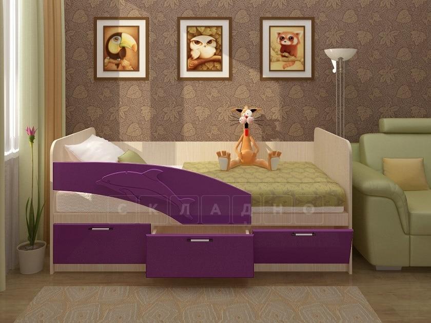 Детская кровать Дельфин 180 см фото 4 | интернет-магазин Складно