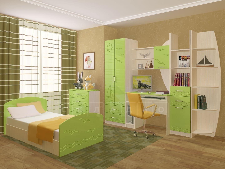 Набор детской мебели Юниор-2 МДФ фото 1 | интернет-магазин Складно