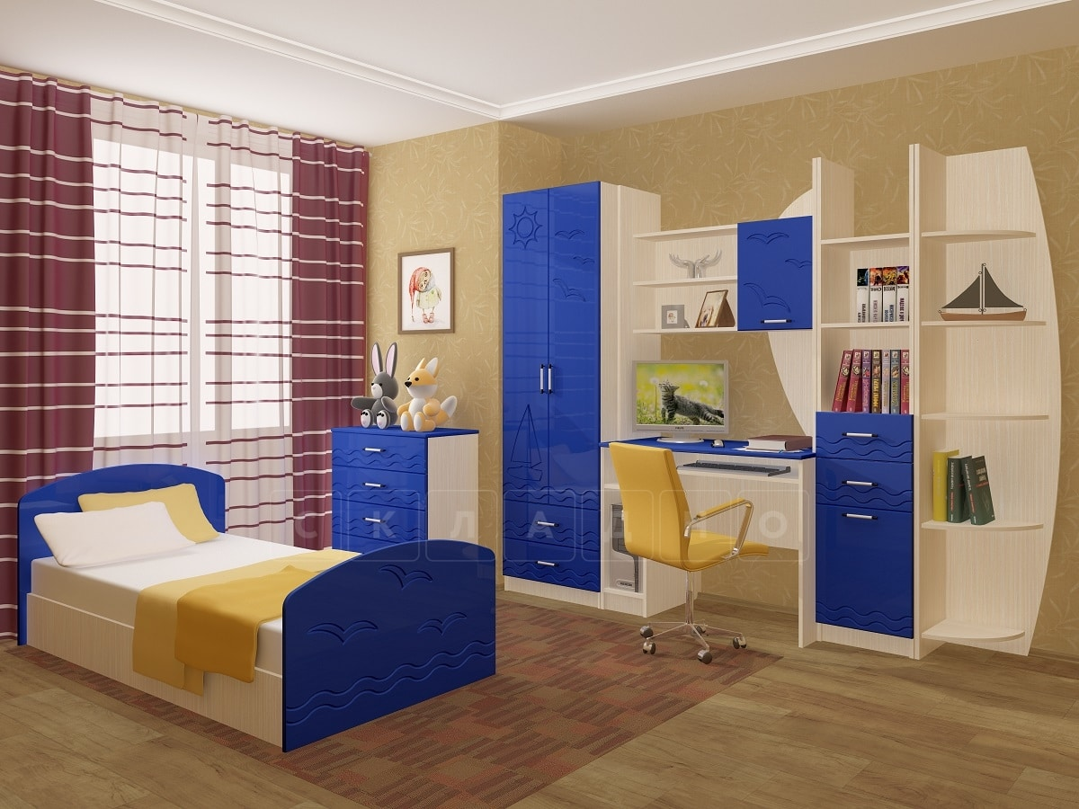 Набор детской мебели Юниор-2 МДФ фото 6 | интернет-магазин Складно