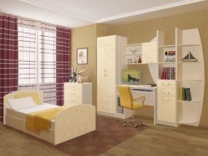Набор детской мебели Юниор-2 МДФ 25240 рублей, фото 8 | интернет-магазин Складно