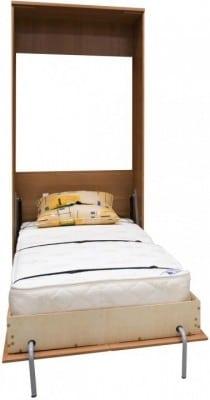 Подъемная кровать 90 см вертикальная К02 фото 2   интернет-магазин Складно