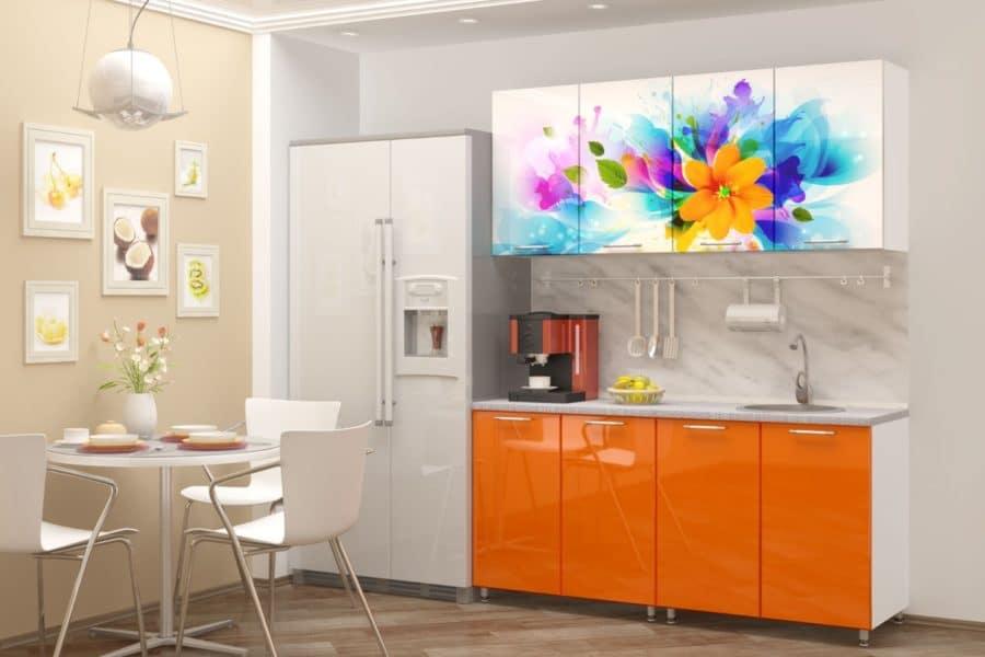 Кухня с фотопечатью Фантазия 160см фото | интернет-магазин Складно
