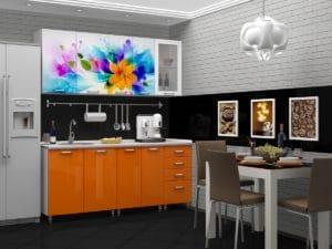 Кухня с фотопечатью Фантазия 1,8м 14490 рублей, фото 1 | интернет-магазин Складно