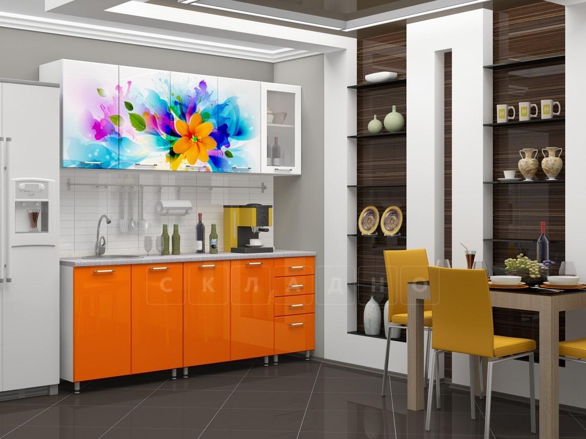 Кухня с фотопечатью Фантазия 2,0м фото 1 | интернет-магазин Складно