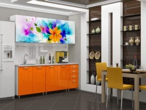 Кухня с фотопечатью Фантазия 2,0м 15690 рублей, фото 2 | интернет-магазин Складно