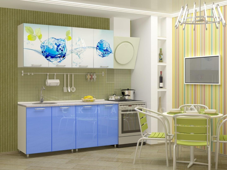 Кухня с фотопечатью Фреш 160 см фото 1 | интернет-магазин Складно