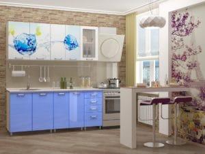 Кухня с фотопечатью Фреш 1,8 м 14490 рублей, фото 1 | интернет-магазин Складно