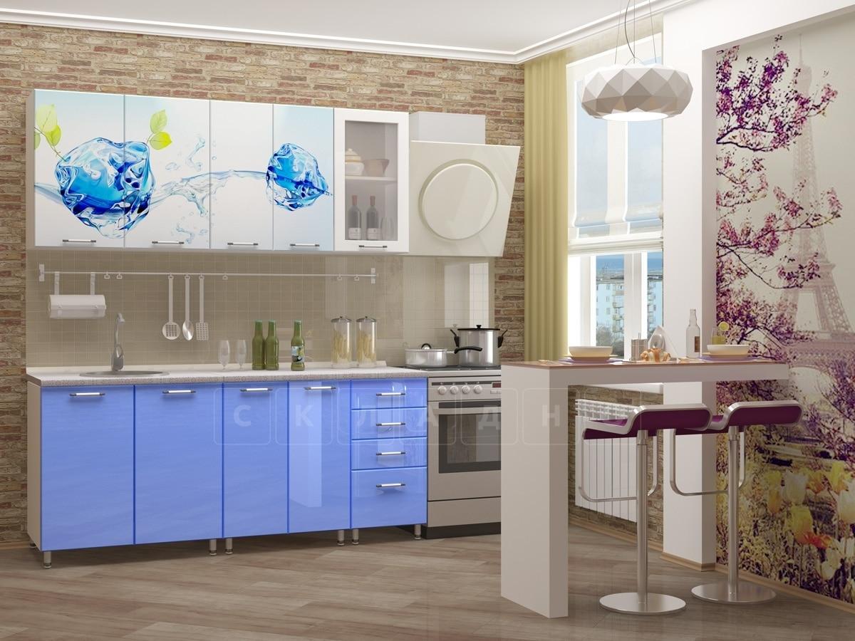 Кухня с фотопечатью Фреш 1,8 м фото 1 | интернет-магазин Складно