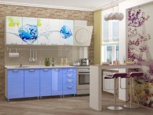 Кухня с фотопечатью Фреш 1,8 м 14490 рублей, фото 2 | интернет-магазин Складно