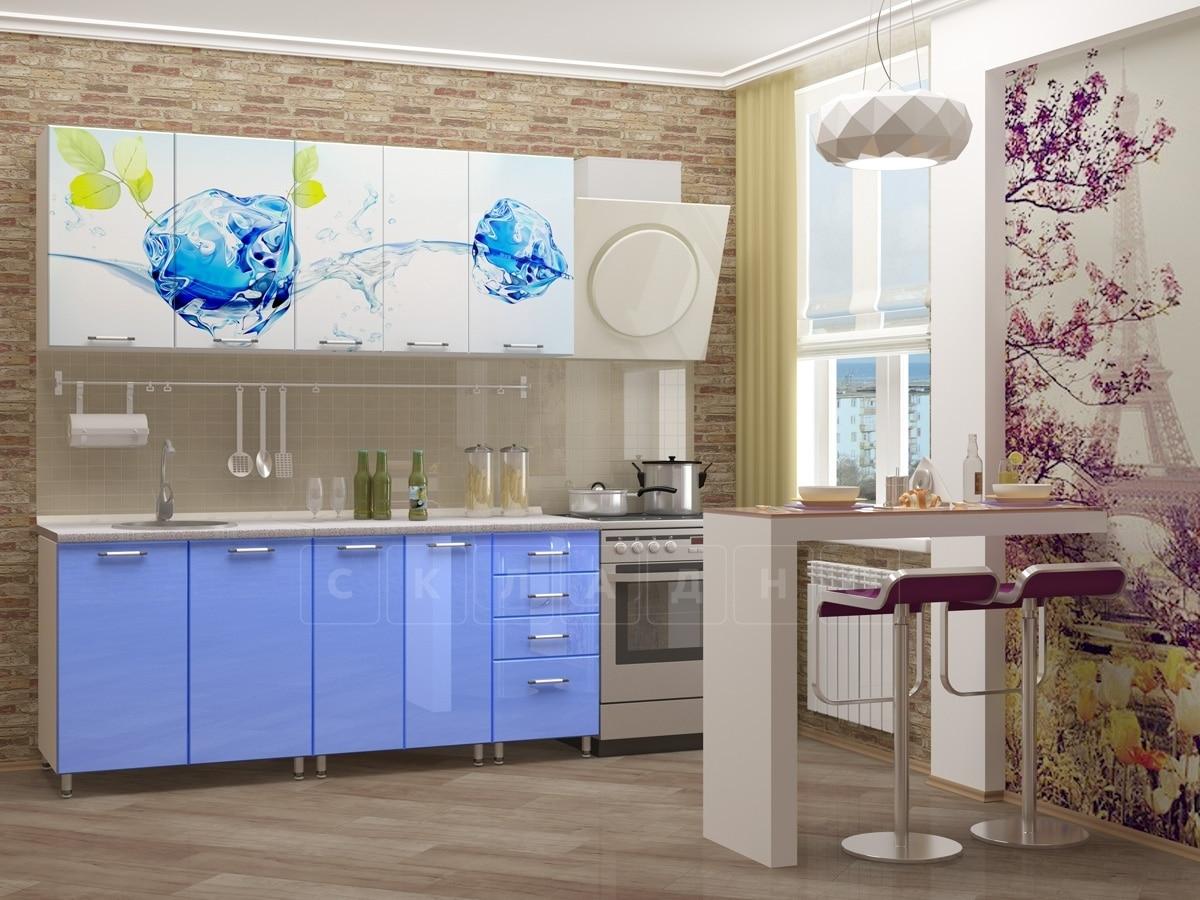 Кухня с фотопечатью Фреш 1,8 м фото 2 | интернет-магазин Складно