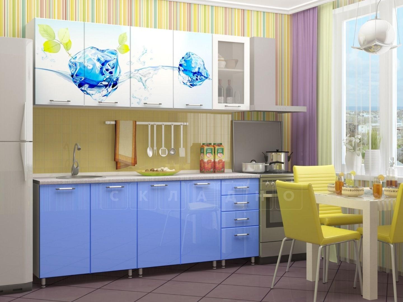 Кухня с фотопечатью Фреш 2,0м фото 1 | интернет-магазин Складно