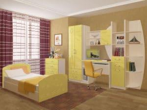 Набор детской мебели Юниор-2 МДФ 25240 рублей, фото 2 | интернет-магазин Складно