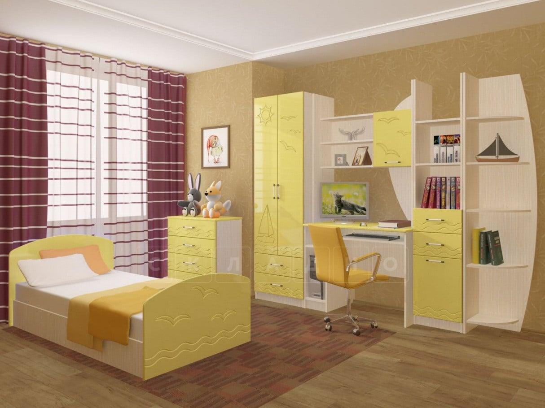 Набор детской мебели Юниор-2 МДФ фото 2 | интернет-магазин Складно