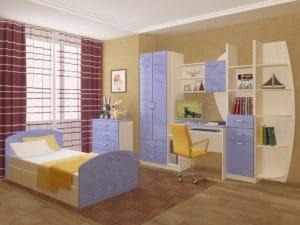 Набор детской мебели Юниор-2 МДФ 25240 рублей, фото 4 | интернет-магазин Складно