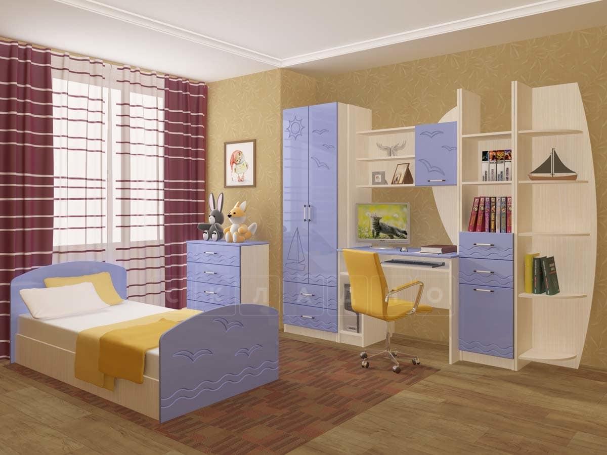 Набор детской мебели Юниор-2 МДФ фото 4 | интернет-магазин Складно