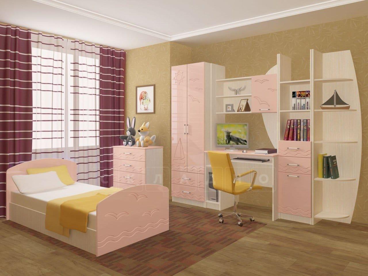 Набор детской мебели Юниор-2 МДФ фото 5 | интернет-магазин Складно