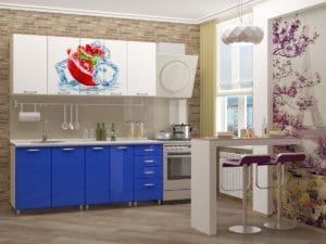 Кухня с фотопечатью Гранат 1,8м 14490 рублей, фото 2 | интернет-магазин Складно