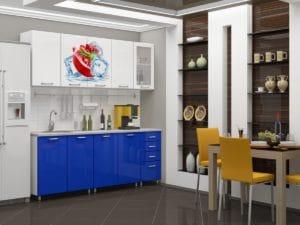 Кухня с фотопечатью Гранат 2,0м 15690 рублей, фото 1 | интернет-магазин Складно