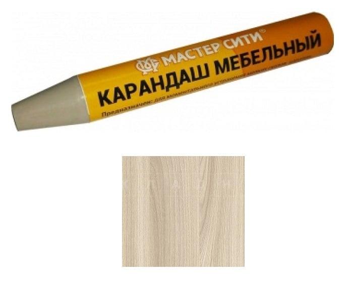 Мебельный карандаш ясень шимо светлый фото 1 | интернет-магазин Складно
