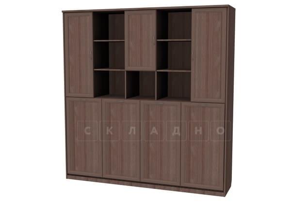 Подъемная кровать 90 см горизонтальная с полками К03 фото 6 | интернет-магазин Складно