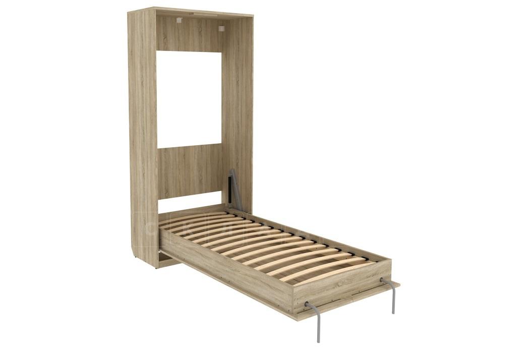 Подъемная кровать 90 см вертикальная К02 фото 6 | интернет-магазин Складно