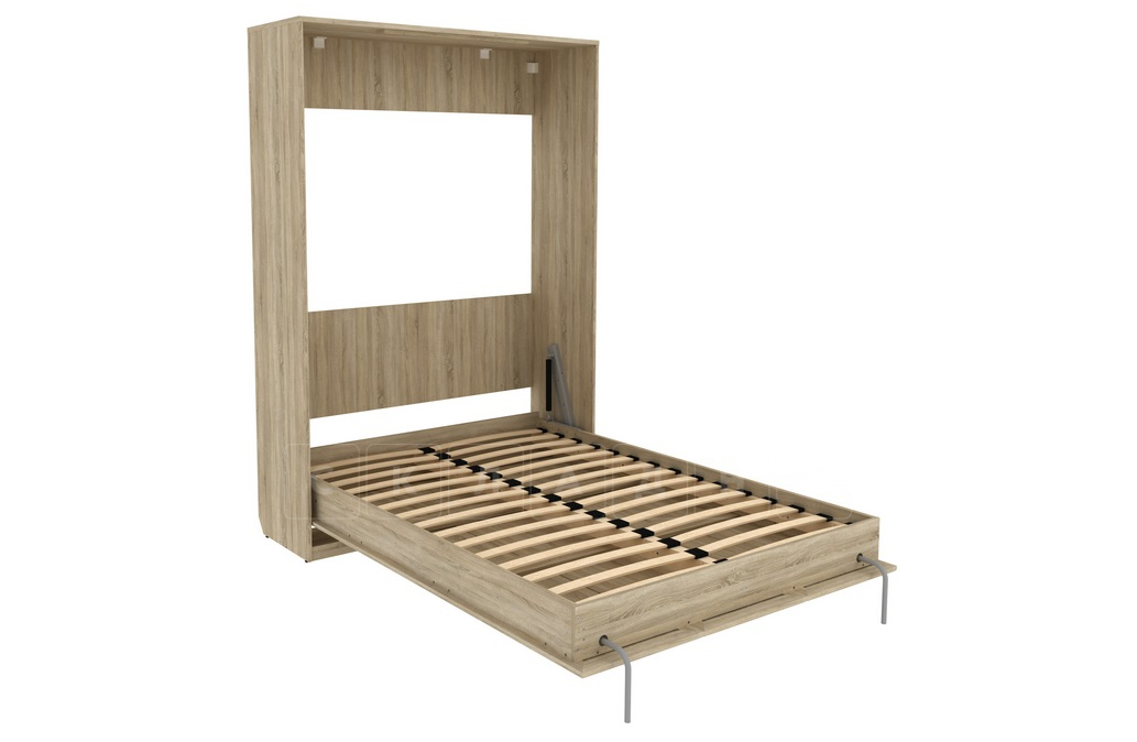 Подъемная кровать 140 см вертикальная К01 фото 6 | интернет-магазин Складно