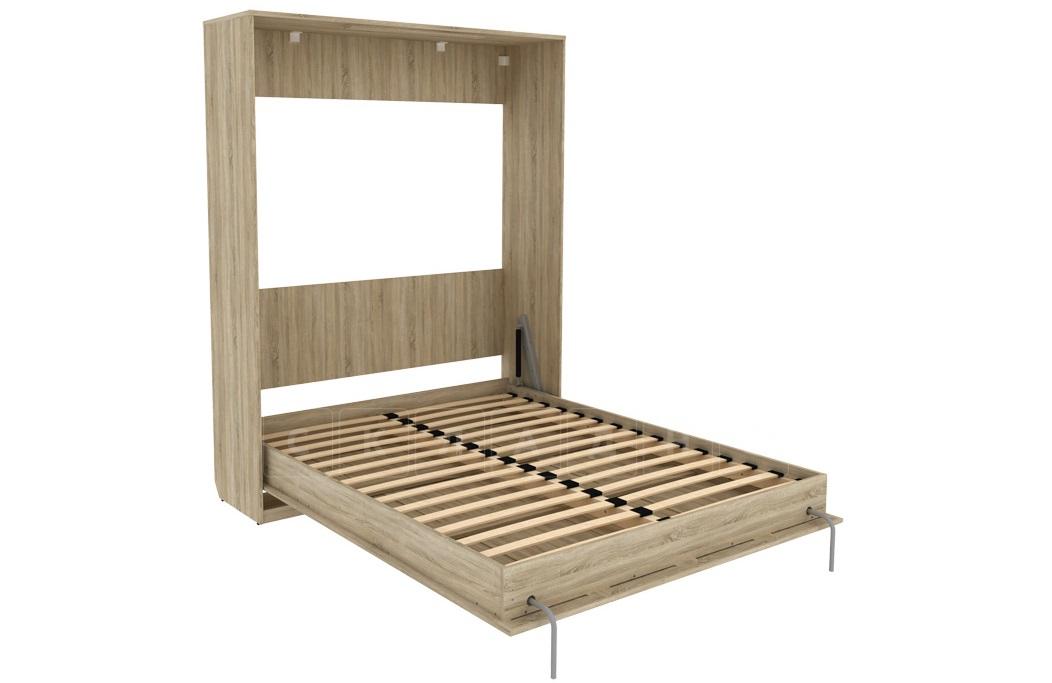 Подъемная кровать 160 см вертикальная К04 фото 6   интернет-магазин Складно