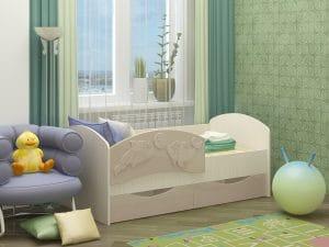 Детская кровать Дельфин-3 МДФ 6870 рублей, фото 9 | интернет-магазин Складно