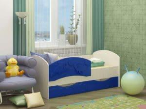 Детская кровать Дельфин-3 МДФ 6870 рублей, фото 6 | интернет-магазин Складно