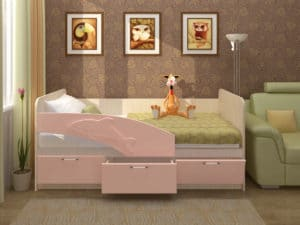 Детская кровать Дельфин 180 см 8340 рублей, фото 2 | интернет-магазин Складно