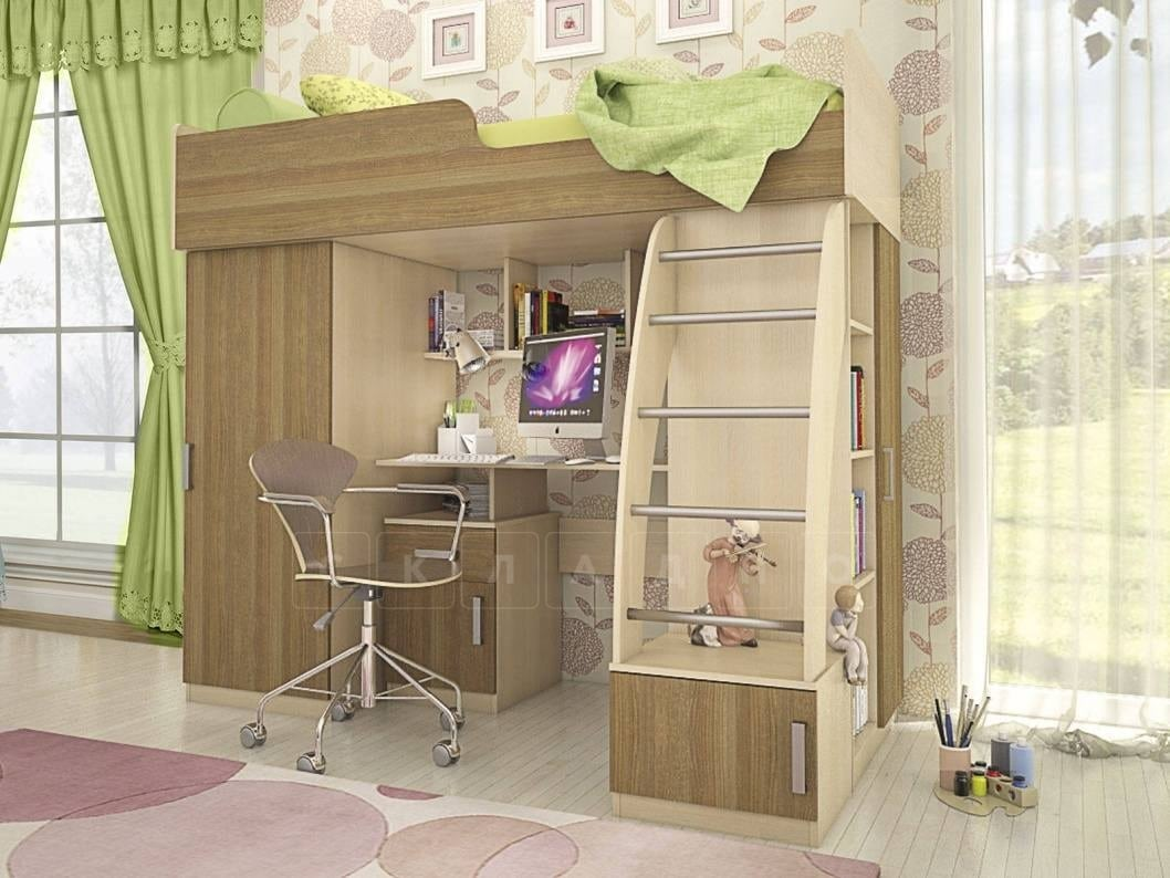 Кровать-чердак Мика фото 4   интернет-магазин Складно