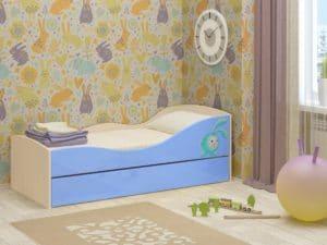 Детская выдвижная кровать Юниор-10 8350 рублей, фото 3 | интернет-магазин Складно