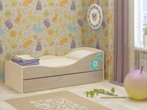 Детская выдвижная кровать Юниор-10 8350 рублей, фото 9 | интернет-магазин Складно