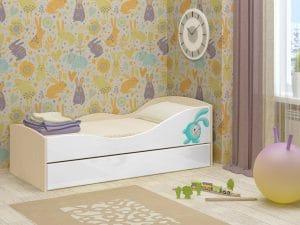 Детская выдвижная кровать Юниор-10 8350 рублей, фото 10 | интернет-магазин Складно