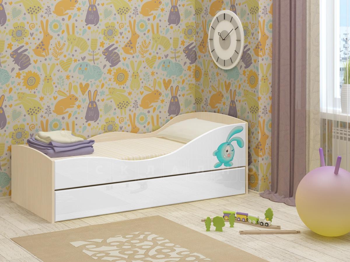 Детская выдвижная кровать Юниор-10 фото 10 | интернет-магазин Складно