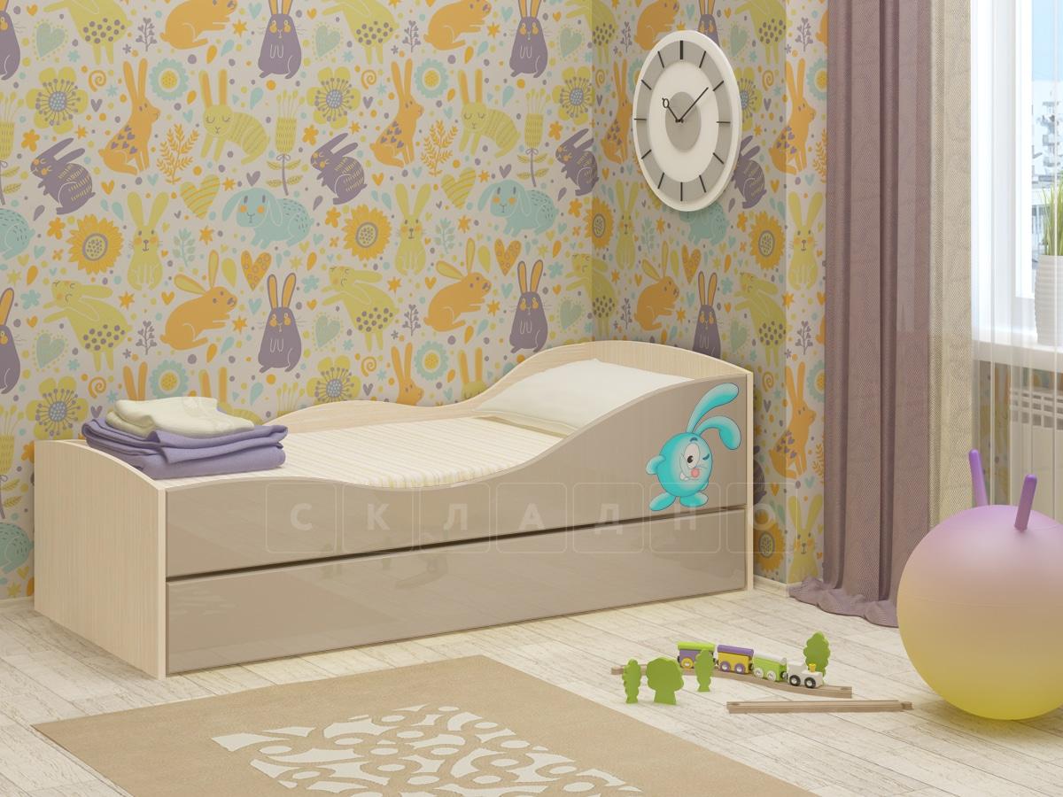 Детская выдвижная кровать Юниор-10 фото 9 | интернет-магазин Складно