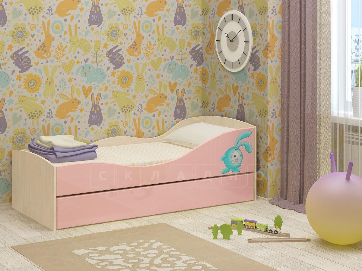 Детская выдвижная кровать Юниор-10 фото 5 | интернет-магазин Складно