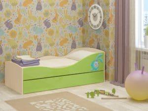 Детская выдвижная кровать Юниор-10 8350 рублей, фото 6 | интернет-магазин Складно