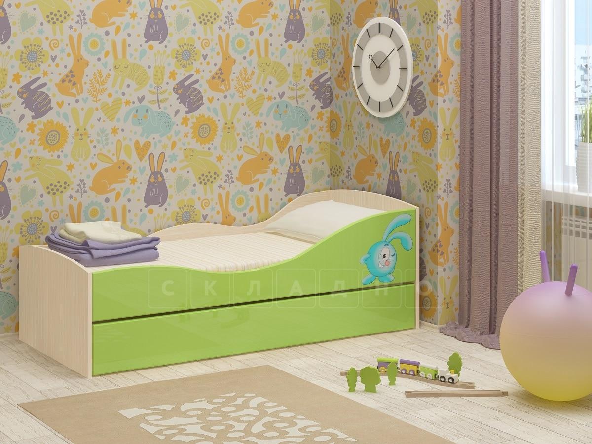 Детская выдвижная кровать Юниор-10 фото 6 | интернет-магазин Складно