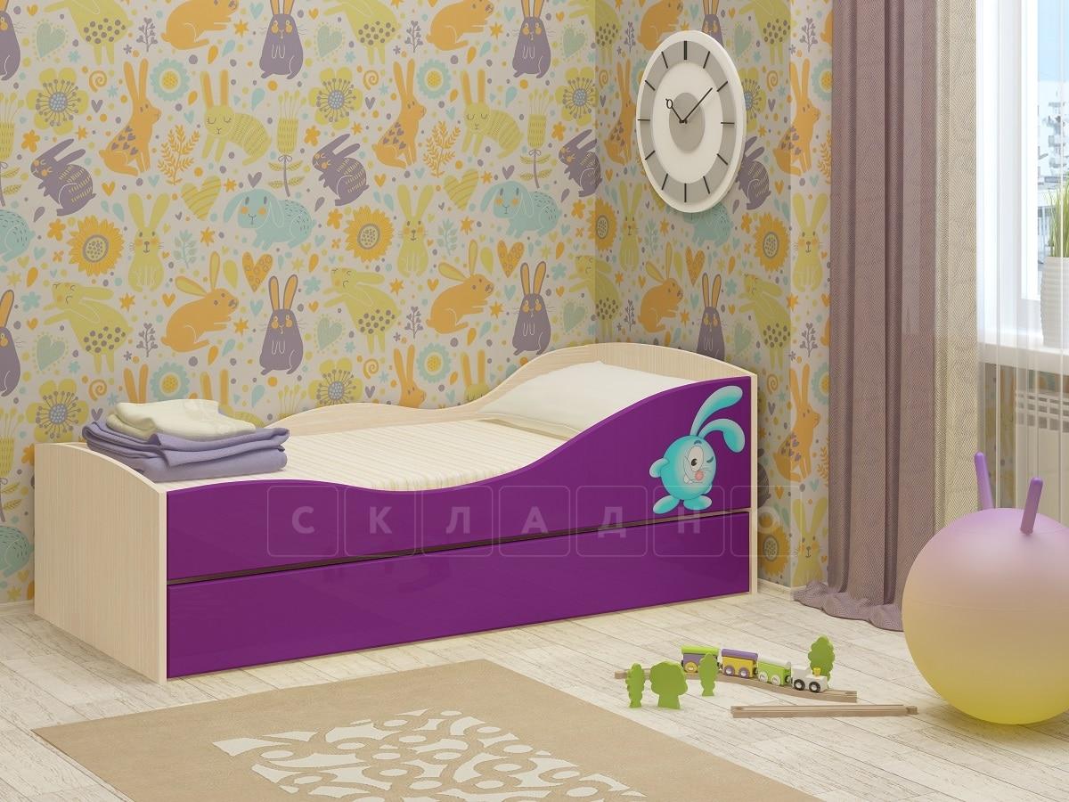 Детская выдвижная кровать Юниор-10 фото 7 | интернет-магазин Складно